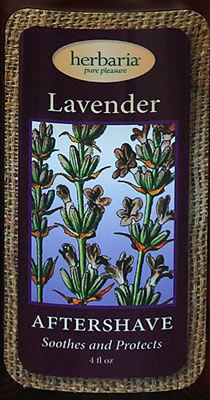 Herbaria all natural Lavender aftershave lotion
