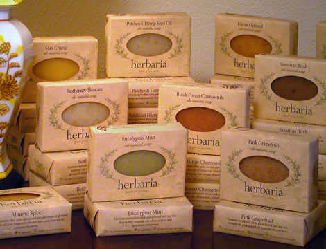 herbaria all natural handmade soap is a great product for fundraising