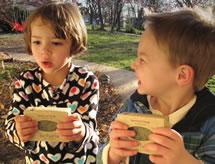 kids love Herbaria spearmint orange soap
