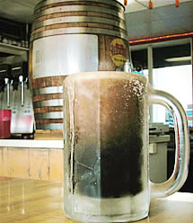 mug of root beer from Carl's Drive-in photo