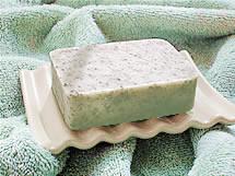 herbaria all natural handmade soap on a dish