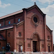St. Ambrose Church, the Hill St. Louis