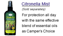 Herbaria's all natural Citronella Mist insect repellent