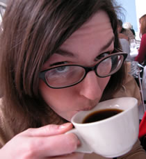 coffee drinker photo