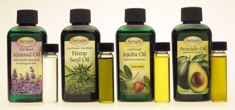 Herbaria Hemp Seed Oil Cold Pressed Unrefined