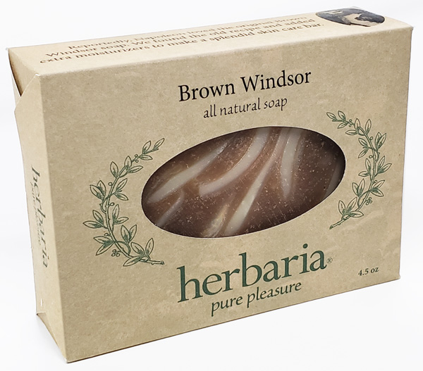 all natural Brown Windsor Soap