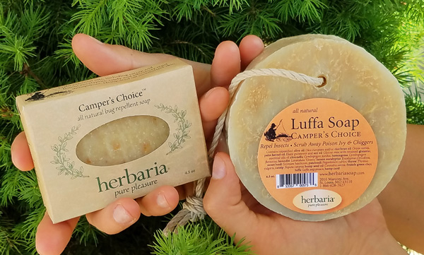 Herbaria Camper's Choice natural insect repellant soaps