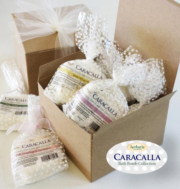 Caracalla Bath Bomb Collection
