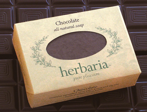 Herbaria all-natural Chocolate Soap