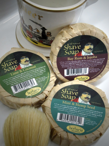 herbaria all natural shave soaps photo
