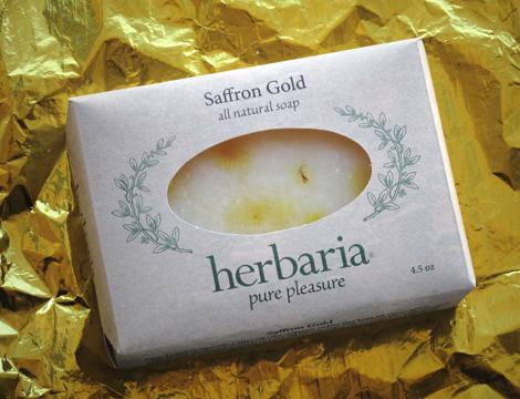 Saffron Gold Soap
