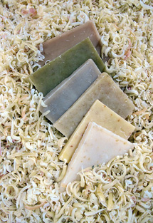 Herbaria Burano all natural laundry soap shavings photo