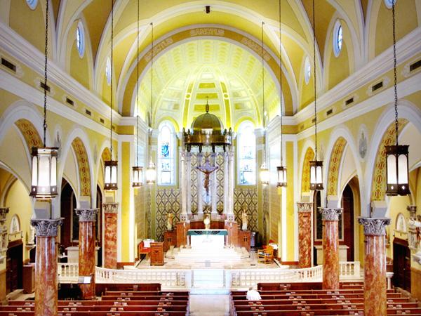 St. Ambrose interior