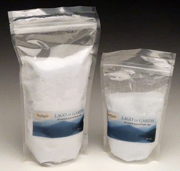 Lago di Garda Bath Salts sizes
