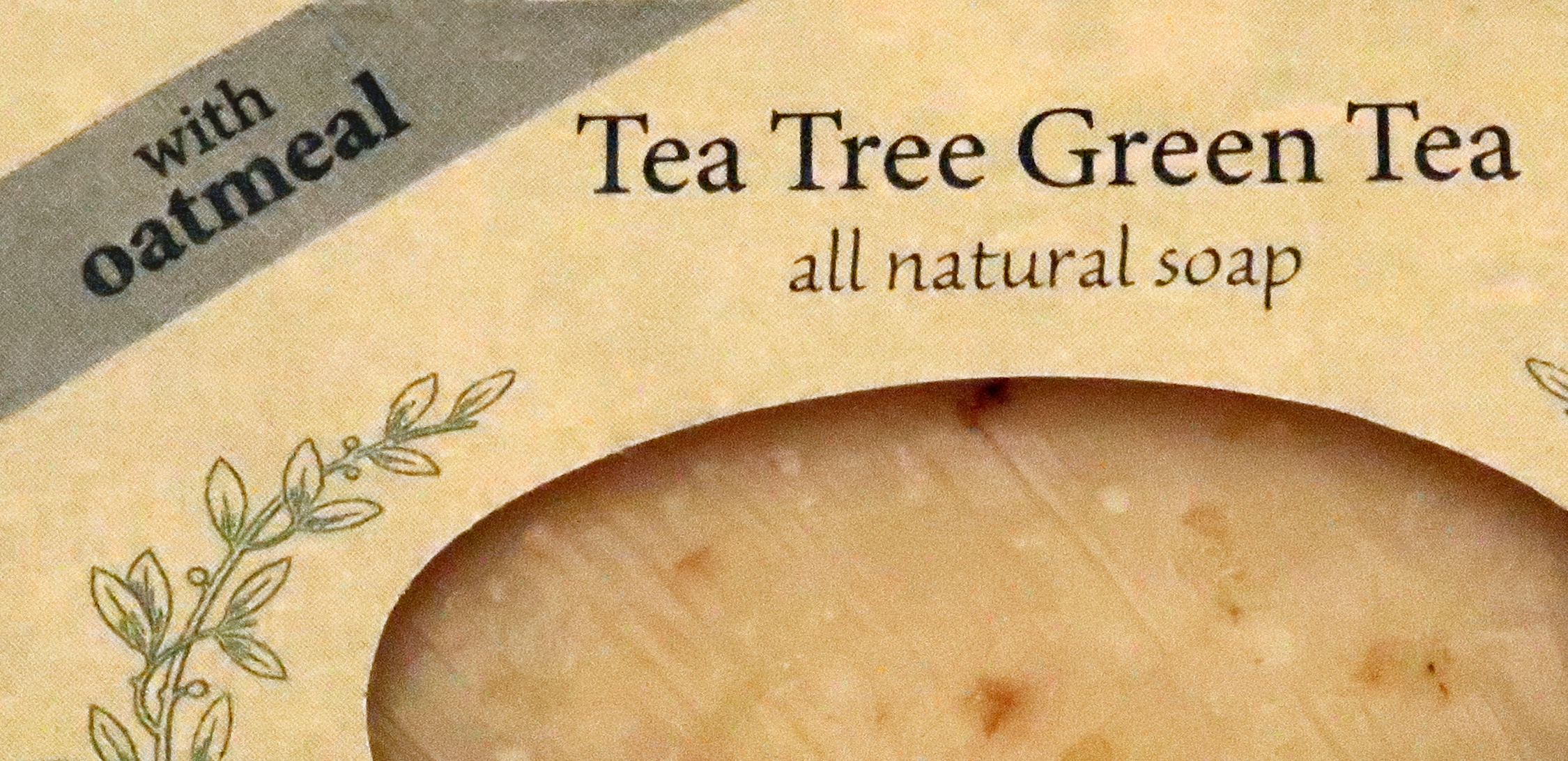 Tea Tree Green Tea with Oatmeal