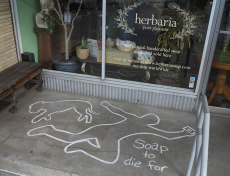 Herbaria's soap is to die for
