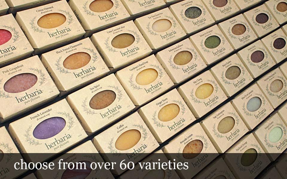 over 60 varieties