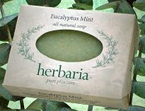 Herbaria all natural Eucalyptus Mint Soap