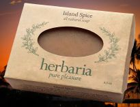 Herbaria all natural Island Spice Soap